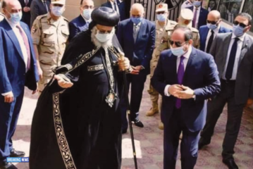 New Coptic Church Opening: President Sisi And Pope Tawadros , Two Wings That Keep Egypt Flying High