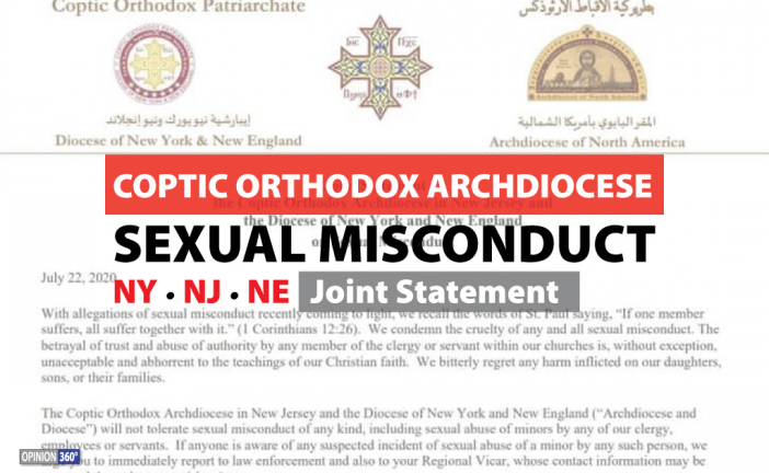 Sexual Misconduct | NY, NJ, NE Coptic Diocese Joint Statement