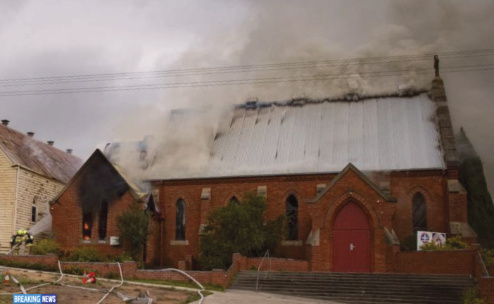 Bendigo's Coptic Church Burned By Fire