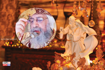 H.H. Pope Tawadros II 2021 Feast Of Nativity Message