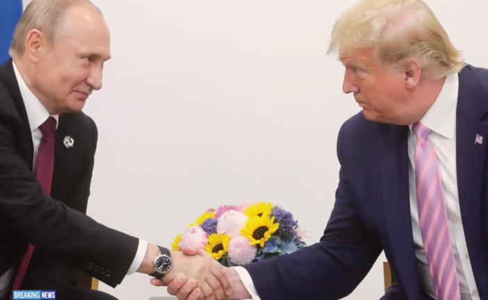 2020 Putin-Trump Europe Day Riveting Combating Coronavirus And Oil Prices