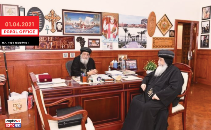 Pope Tawadros News | The Papal Report April 1, 2021